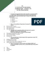 f1 Consolidated Quiz