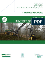 FMO Training Programme Manual - Stage 2 - Harvester