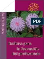 Biofísica para la formación del profesorado; Nazira Píriz Giménez