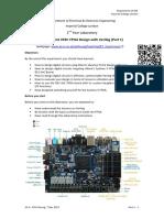 Experiment Sheet - FPGA Design ALL
