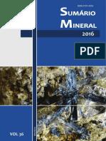 DNPM Sumario Mineral Brasileiro 2016