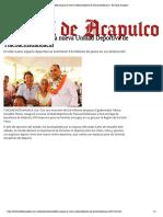 29-06-2019 Astudillo inauguró la nueva Unidad Deportiva de Tlacoachistlahuacal.