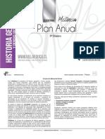 Planificación Anual - HISTORIA - 5Basico - P