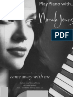 Songbook_Norah Jones - Albun Come Away With Me [Piano]
