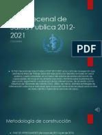 plan decenal de salud publica 2012-2021