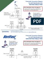 VeriFast LVDT Pneumatic Connection Diagrams Ver 1.0