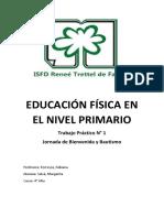Educación Física en El Nivel Primario