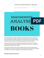 Fromdev.com-8 Software Requirements Analysis Books for Business Analysts