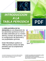 Introduccion Ala Tabla Periodica