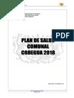 Plan de Salud Comunal 2018