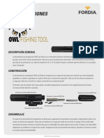 Owl Fishing Tool Manuales