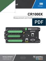 Cr1000x Product Manual