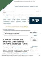 Automatiza Decisiones Con Inteligencia Artificial en Excel (Instructivo Para Novatos
