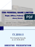 Investor Presentation - Q1 - FY 2010-11