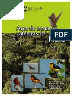 Aves de zonas cafeteras del sur del Huila