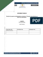 Informe Técnico Cerro Dominador