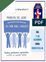 Afiche Día Del Logro