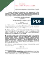 Constitucion Sinaloa 26 Oct 2018