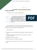 Noções Básicas de Estatística_ Coleta e Exposição de Dados e Modelos Estatísticos