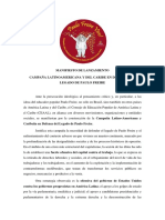 CEAAL Manifesto Campaña en Defensa del Legado de Paulo Freire (Español)