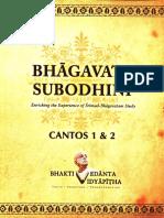 Bhagavata Subodhini 1-2