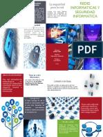 Triptico  Redes Informaticas Seguridad Informatica