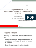 Taller DEN junio Dr. Zenón