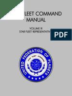 Star Fleet Command Manual - Volume IX