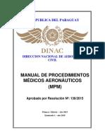 Manual de Procedimientos Medicos Mpm Enmienda 1 2019