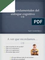 Bases del enfoque cognitivo
