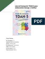 TDAH-5 Ficha Técnica y Descripción Breve