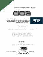 Cromatografía de permeacion en gel
