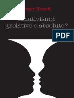Relativismo o absolutismo.pdf