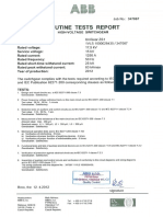 1 Routine Test Reports