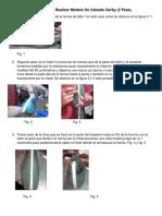 Reporte Del Proceso Para Realizar Modelo de Calzado