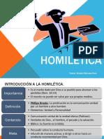 Homilética