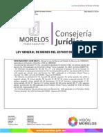 Morelos Ley General de Bienes