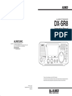 Alinco Dr Xr8t user Manual