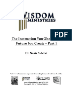 The Instruction You Obey is Future You Create-Part 1 043