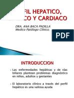 Perfil Hepático, Lípidico, Cardiaco 2019