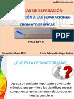 tecnica cromatografica