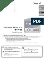 Roland TM2 - User Manual