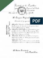 Ley de Creación del Distrito de Huancapi