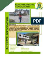 Informe Topografico Pistas La Merced Ok