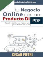 Crea tu Negocio Online con un P - Cesar Pietri.pdf