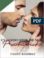 Cuando Deje de Ser Prohibido - Fanny Ramirez