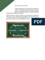 La Hipótesis y Su Importancia en La Investigación Científica