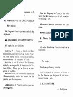 Ley de Creación del Distrito de Huamanquiquia, provincia de Fajardo, Ayacucho