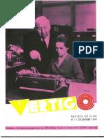 Vértigo Nº 01 - Dic 1991