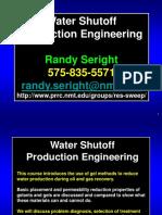 Control de agua